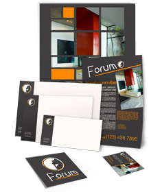 PagePlus design template Creating a publication from design templates