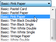 PagePlus dlg lineborder select Adding borders