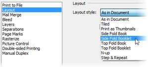 PagePlus dlg print optionslist Printing basics