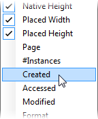 PagePlus dlg resourcemanager morecolumns Checking resources and  fonts used