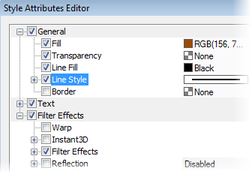 PagePlus objstyle2 Using object styles
