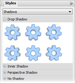 PagePlus tab styles 2d Applying 2D filter effects