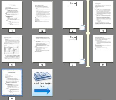 PaperPort blank%20page Seiten im Aufzeichnungsassistenten verwalten