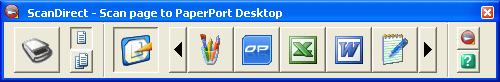 PaperPort scandir panel Was ist ScanDirect?