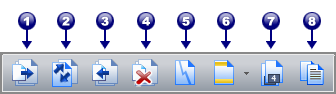 PDF Converter tb document assembly Værktøjslinjen Dokumentsamling