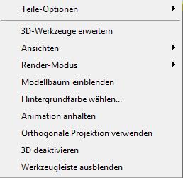 PDF Converter eng 3d right click menu Kontextmenü für 3D Objekte