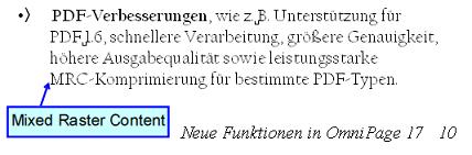 PDF Converter eng callout example Legende