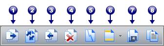"""PDF Converter tb document assembly Werkzeugleiste """"Dokumentzusammenstellung"""""""