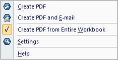 PDF Converter eng excel pdf menu From Microsoft Excel
