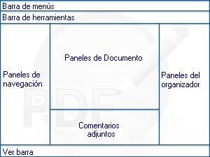 PDF Converter eng overview Acerca de la ventana del programa