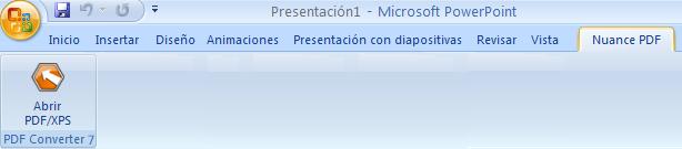 PDF Converter eng powerpoint add in converter Inicio desde Microsoft PowerPoint