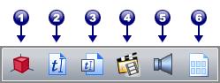 PDF Converter tb advanced Barra de herramientas avanzadas