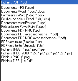 PDF Converter supported file types Assistant PDF Create