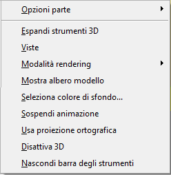 PDF Converter eng 3d right click menu Il menu di scelta rapida degli oggetti 3D