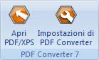 PDF Converter eng buttons open and settings Preferenze per lapertura di file di Word