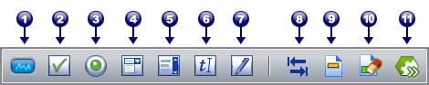 PDF Converter tb form tools Barra degli strumenti Modulo