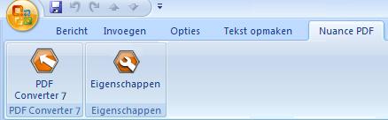 PDF Converter eng outlook add in converter Starten vanuit Microsoft Outlook