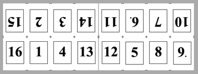 PDF Converter imposition layout3 Impositie   voorbeeldlay outs