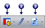 PDF Converter tb security De werkbalk Beveiliging