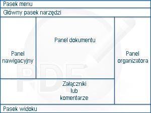 PDF Converter eng overview Informacje o oknie programu