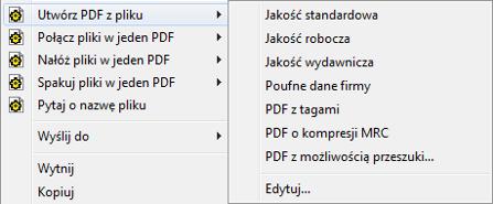 PDF Converter eng shortcut expanded Modyfikowanie profilów