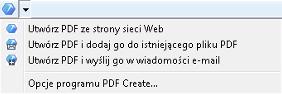 PDF Converter eng web browser Z poziomu programu Internet Explorer