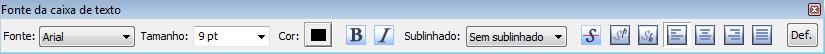 PDF Converter eng tb text box properties Caixa de texto