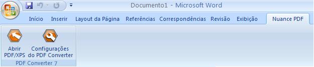 PDF Converter eng word add in converter Início a partir do Microsoft Word (botão Abrir PDF/XPS)