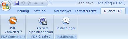 PDF Converter eng outlook add in pro Från Microsoft Outlook och Lotus Notes