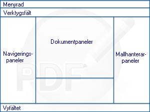PDF Converter eng overview Programfönstret