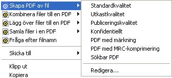 PDF Converter eng shortcut expanded Modifiera profiler