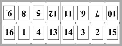 PDF Converter imposition layout1 Utskjutning – exempellayouter