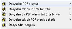 PDF Converter eng shortcut menu5 Dosya Başına Bir PDF Oluşturma