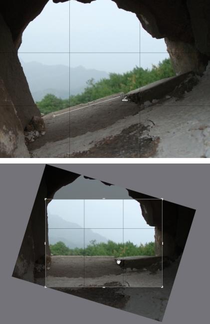 Photo Director straig13 局部调整工具