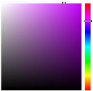 Photo Paint color viewers Escolher cores
