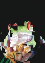 Photo Paint fx distort blocks Galeria de efeitos especiais