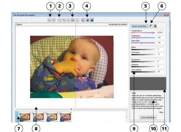 Photo Paint loc corr ia lab sg33 Usar o Lab de ajuste de imagem