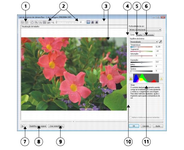 Photo Paint loc raw lab3 Trazer arquivos de câmera não processados para o Corel PHOTO PAINT