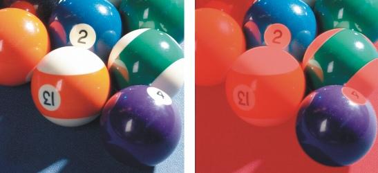 Photo Paint mask sel color Definir áreas editáveis utilizando informações de cores