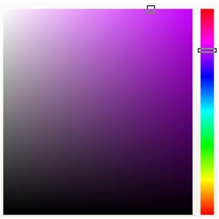 Photo Paint color viewers Choosing colors