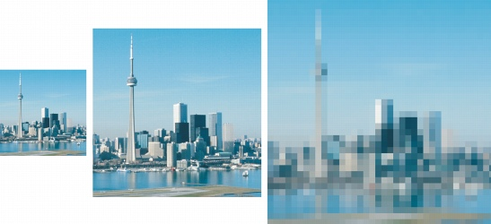 Photo Paint size resize Changing image dimensions