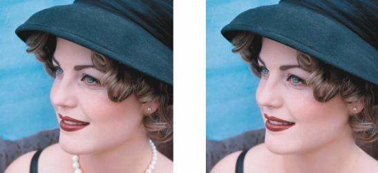 Photo Paint ret clone Clonación de áreas de la imagen