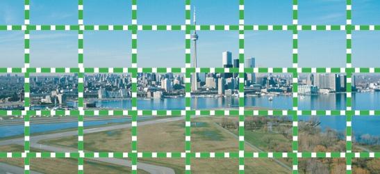 Photo Paint ruler grid Configuración de la cuadrícula