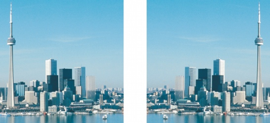 Photo Paint size flipped Rotación e inversión de imágenes