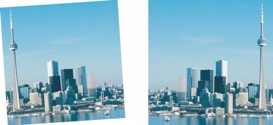Photo Paint size rotate Rotación e inversión de imágenes