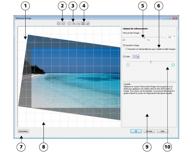 Photo Paint loc bitmaps straighten2 Redressement d'images
