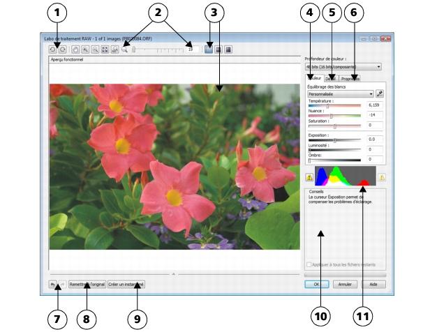 Photo Paint loc raw lab3 Importation de fichiers bruts d'appareils photo dans Corel PHOTO PAINT
