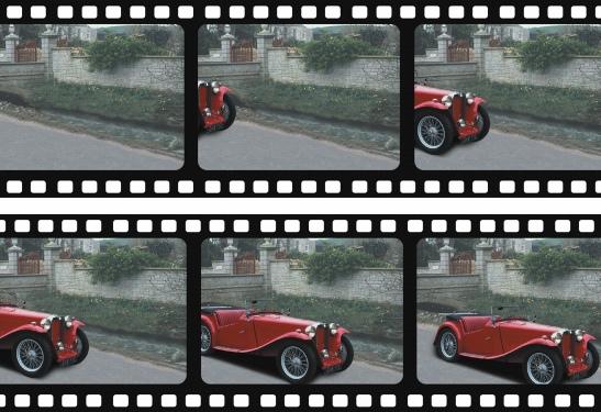 Photo Paint movies moving object Création de films