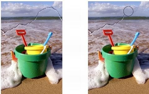 Photo Paint ret touchupbrush Suppression des traces de poussière et des éraflures