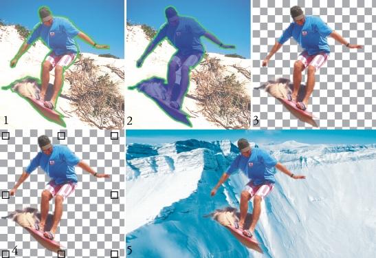Photo Paint mask cutout25 Ritaglio di immagini